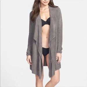Barefoot Dreams Bamboo Chic Lite cardigan wrap S M